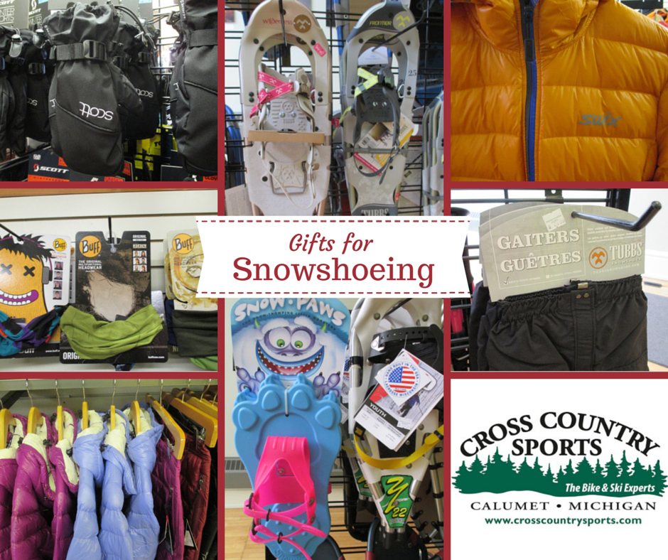 Gifts for Snowshoers