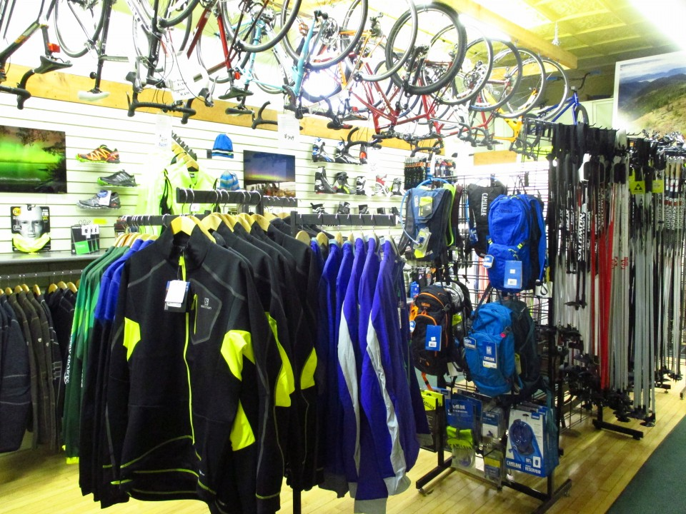 Jackets, Skis, Bikes & more!