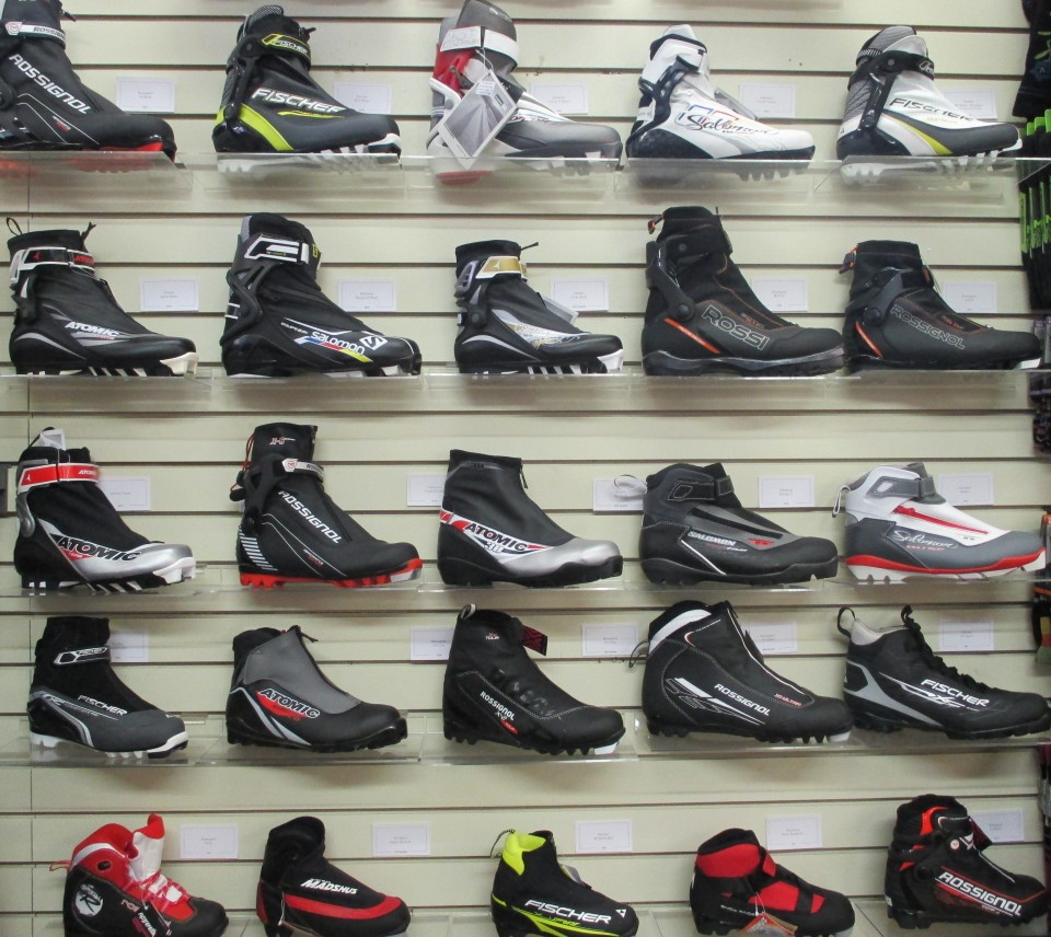 Ski Boot Selection