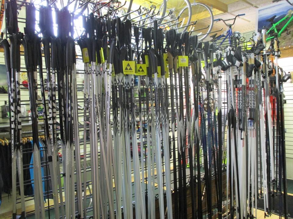 Ski Pole Selection