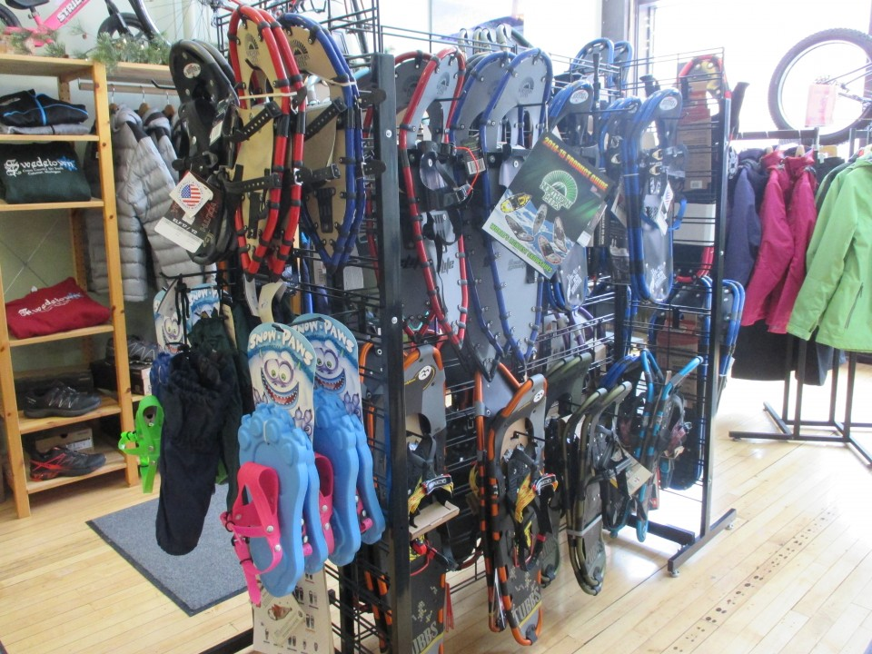 Snowshoe Selection
